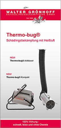Thermo-Bug Schädlingsbekämpfung mit Heißluft